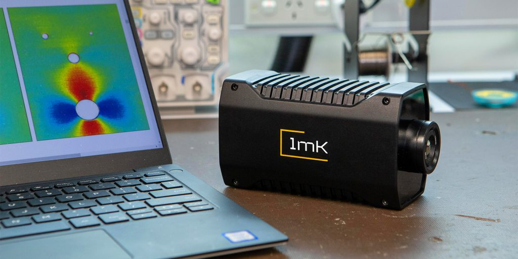 Side view of the 1MILLIKELVIN LTS-640v Next Generation Stress Sensing Solutions. Advanced Stress Imaging, Simplified